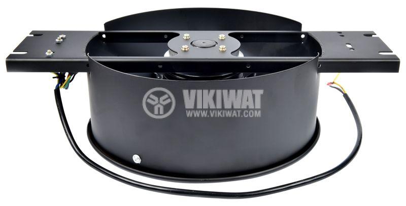 Industrial Axial Fan VW-2E-250, F250mm, 220VAC, 130W, 1850m3 / h - 5