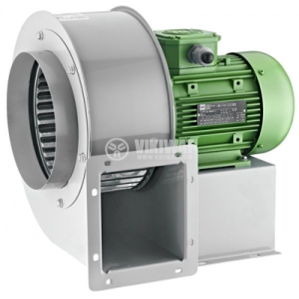 """Centrifugal, three-phase Fan OBR 260T-2K, 380VAC, 1700W, 2700 m3/h, type """"snail, with exterior turbine"""