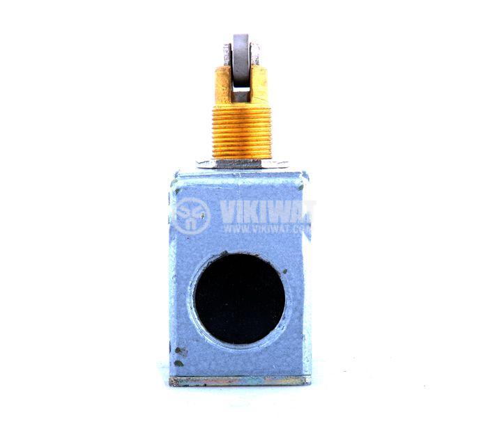 Краен изключвател МП1203 УХЛ3, SPDT-NO+NC, 10A/660VAC, щифт с ролка - 4