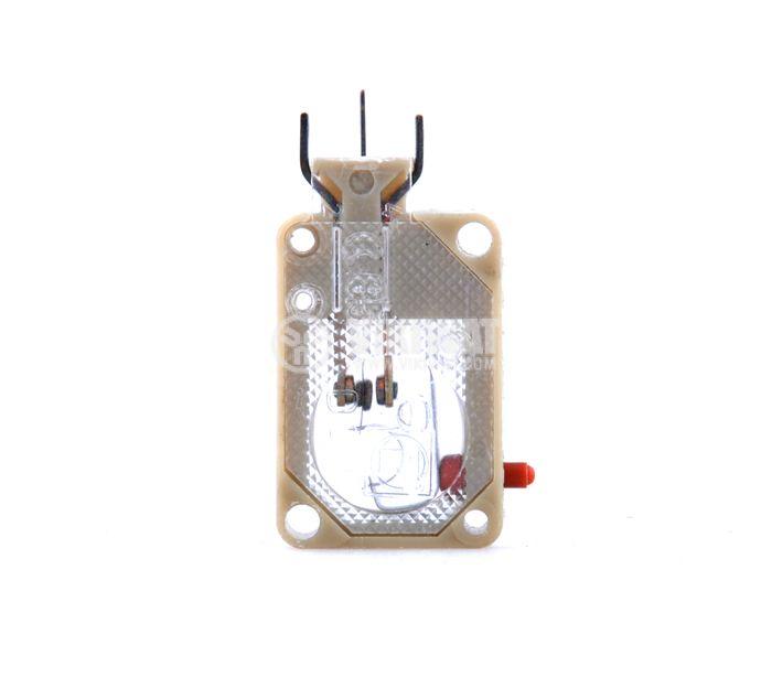 Краен изключвател, C-2, SPDT-NO+NC, 4A/220VAC, щифт - 1