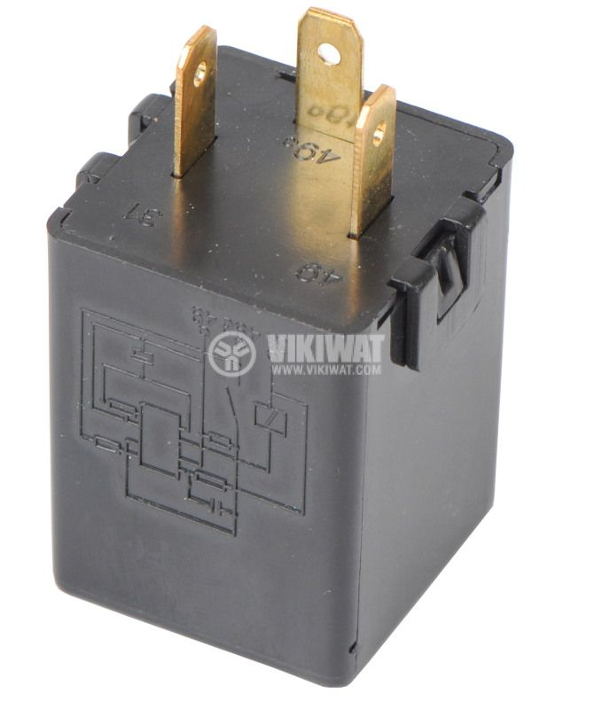 Electromagnetic Automotive Relay FLASHER 12VDC