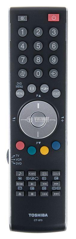 Remote control TOSHIBA CT-873, AAA - 1
