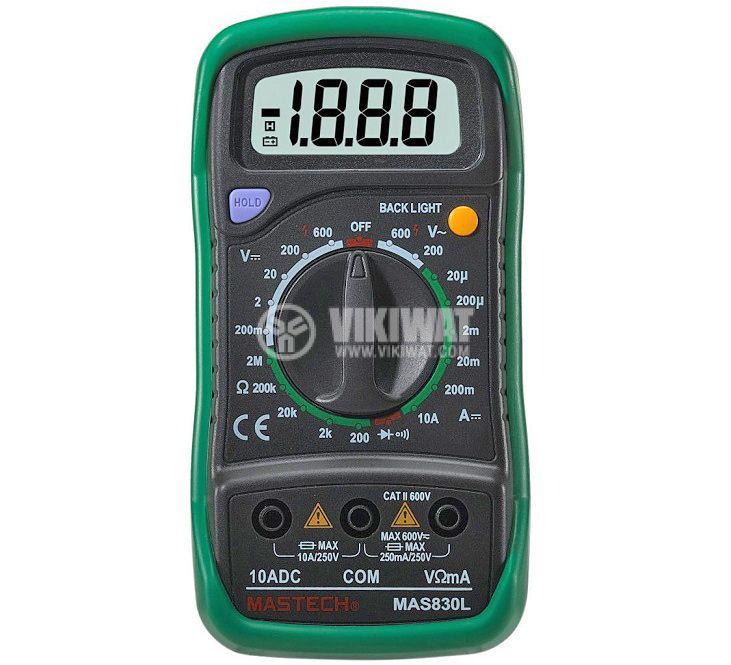 Digital Multimeter MAS830L - 1