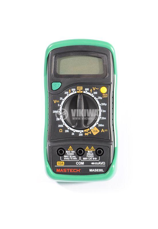Voltmeter MAS830L - 2