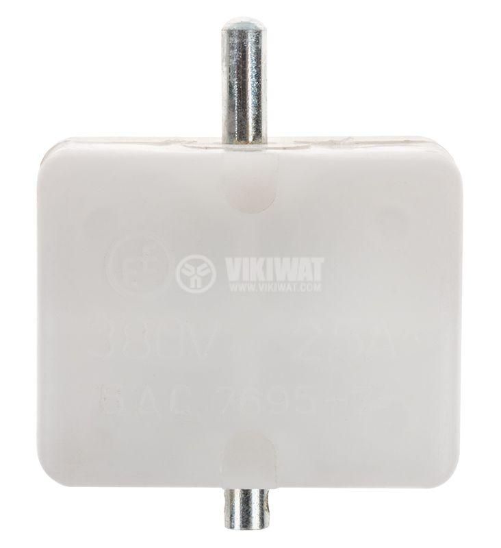 Краен изключвател, незадържащ, KБР-11, SPDT-NO+NC, 2.5A/380VAC, щифт - 1