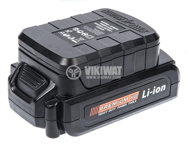 Rechargeable battery 0503MFJS with charger, 18V, 2000mAh for PREMIUM power tools - 1