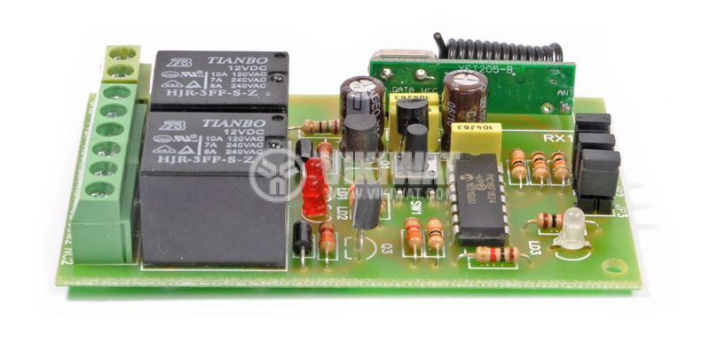 Two channel remote control unit, 12VDC - 2