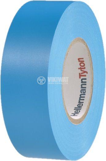 PVC electrical tape, HELATAPE FLEX 15, width 25mm x length 25m, blue