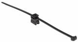 Кабелна превръзка с скоба, Top Fixing T50ROSEC4B, 200mm, черна, за многократна употреба - 3