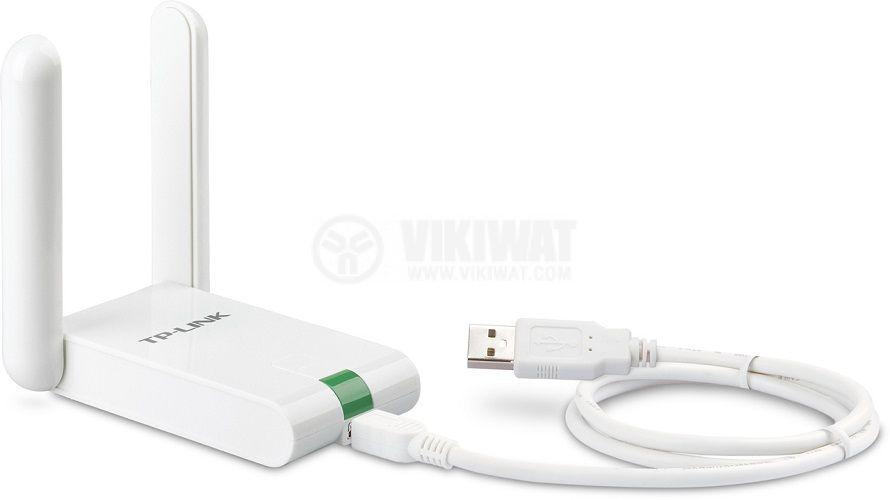 Wi-Fi адаптер за безжичен сигнал TP-LINK, TL-WN822N, 300Mbps, USB - 2
