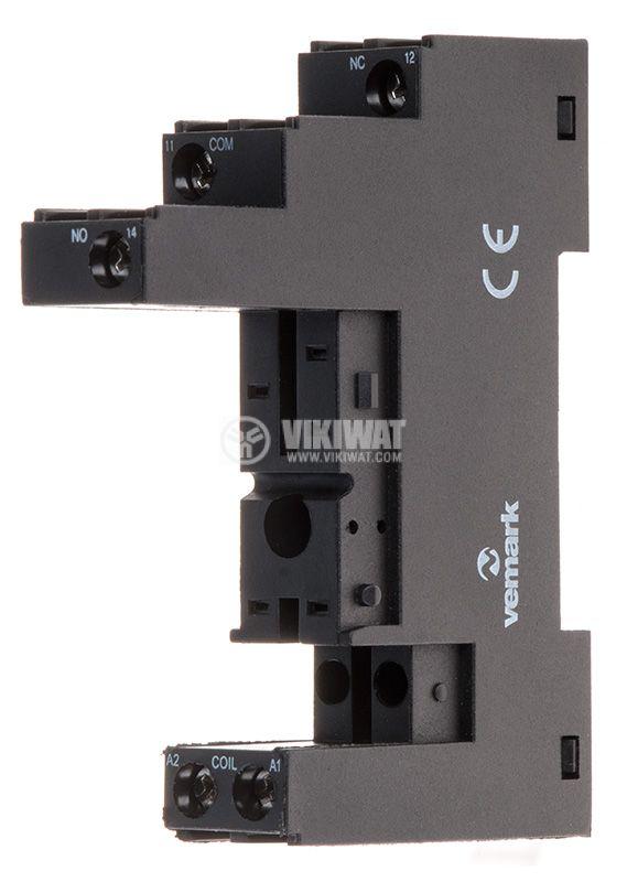 Relay socket RT626-B white