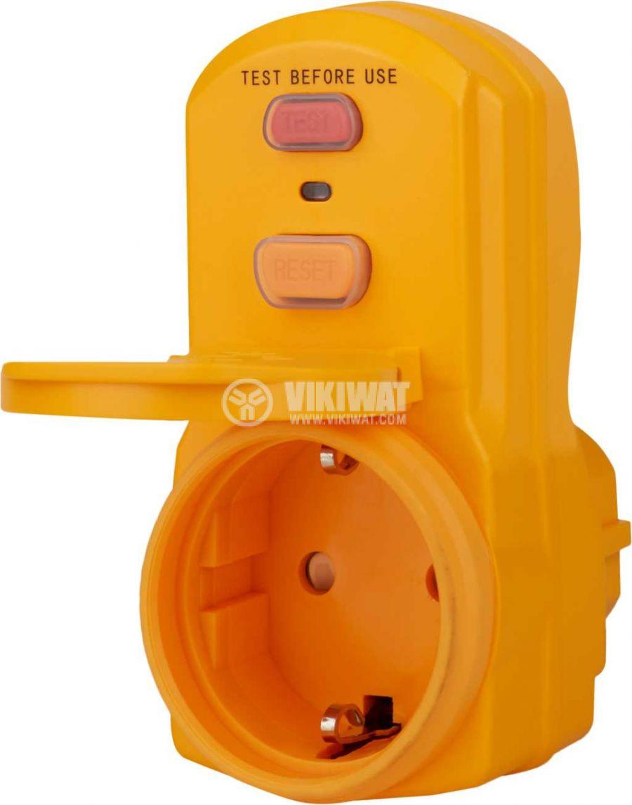 Circuit breaker adapter, brennenstuhl, BDI-A 2 30, 16A, IP54, 1290660 - 3