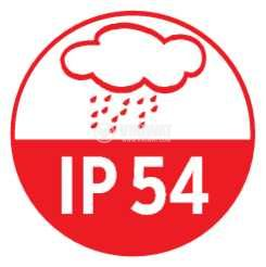 Адаптер - дефектнотокова защита, Brennenstuhl, 16A, IP54, влагозащитен, 1290660 - 6