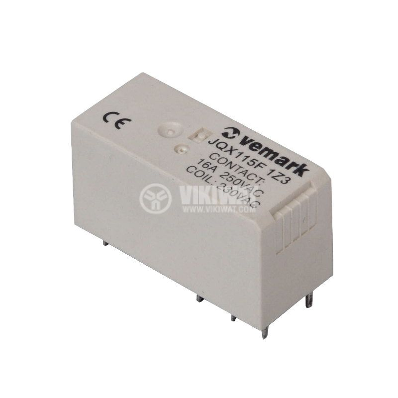 Electromagnetic relay NO+NC - 1