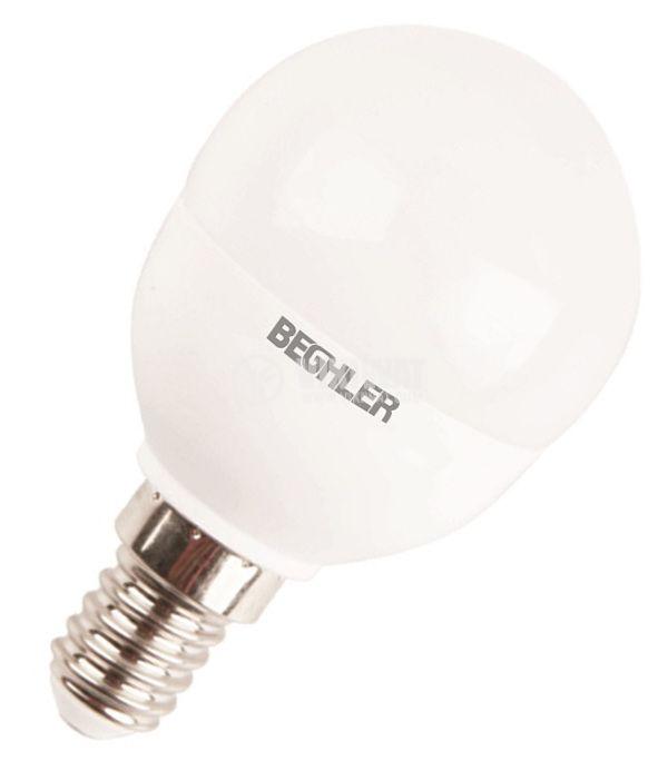 LED Lamp E14, 5.5 W, 220 VAC, 4200 K, neutral white