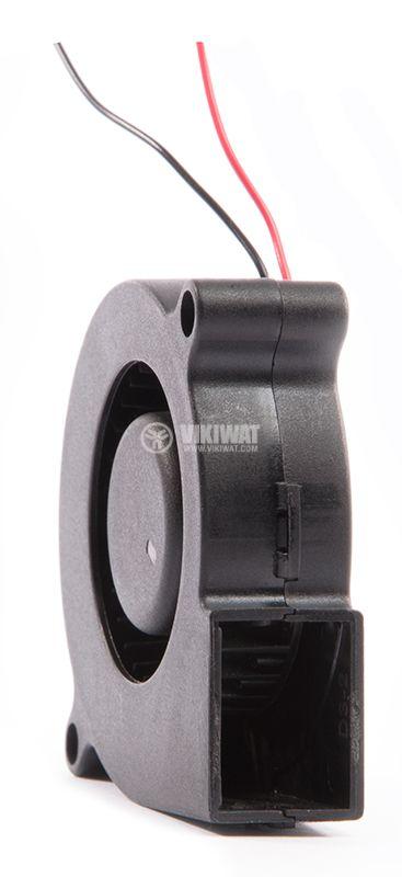 """Вентилатор, 12VDC, 51.7x51.6x15mm, тип """"охлюв"""", 9.18m3/h, MF50151VX-B00U-A99 - 1"""
