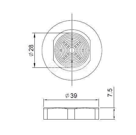 Зумер пиезоелектричен BC28 ф43 с генератор - 3