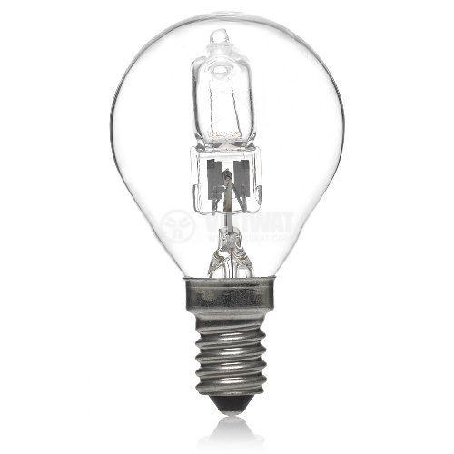 Халогенна лампа, 220 VAC, 42 W, E14