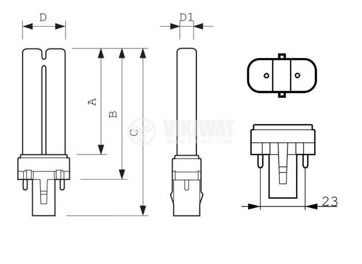 енергоспестяваща лампа - 2