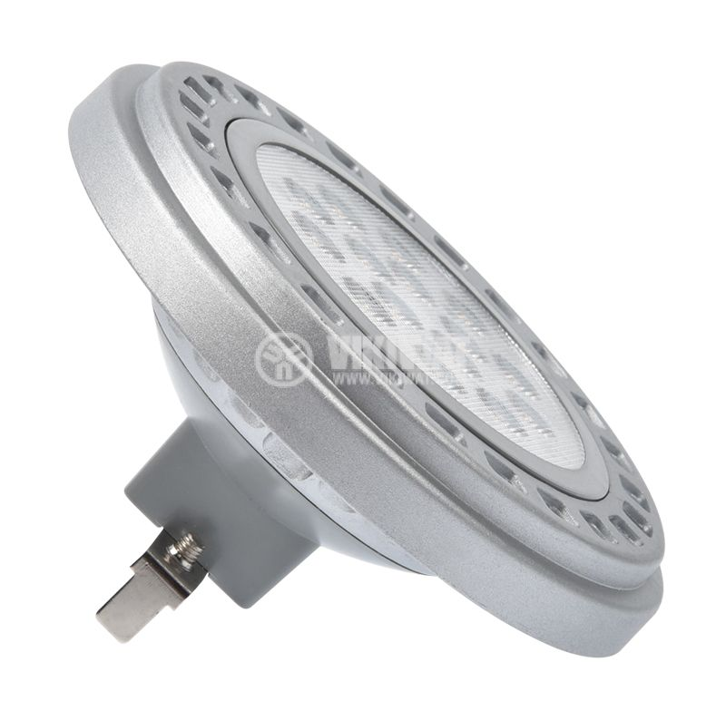 LED лампа AR111, 14W, 12V, G53, 1050lm, 3000K,  BA32-01460 - 3