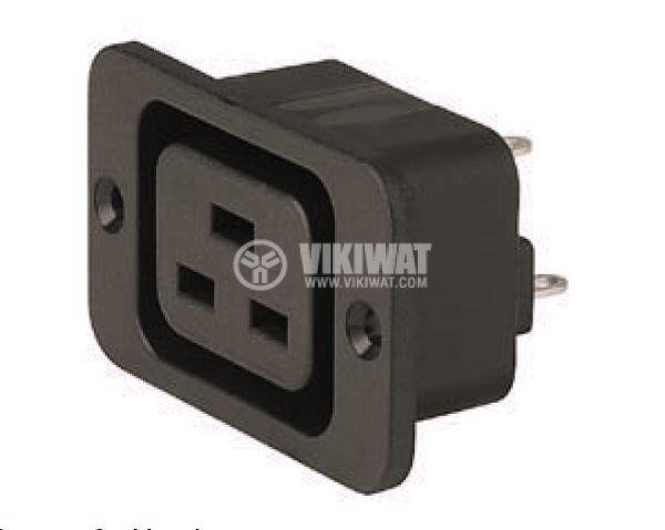 Power connector IEC 60320, C19 (J), female 16A - 1