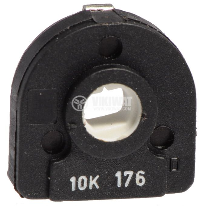 Тример потенциометър еднооборотен линеен, 10 kOhm, 0.5 W - 1