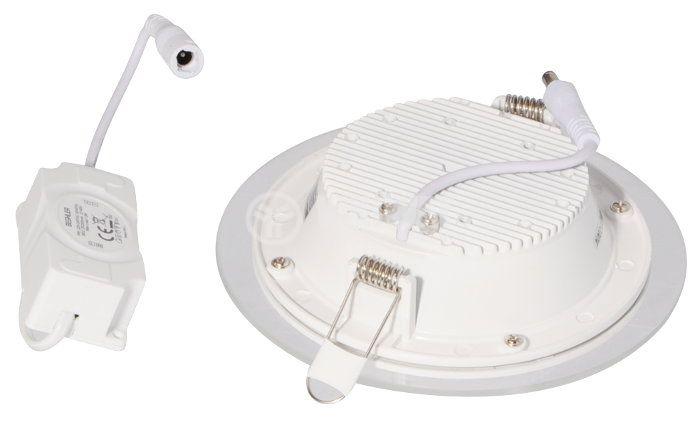 LED панел за окачен таван BL03-1220, 12W, 220VAC, 6400K, студенобял, Ф160mm, за вграждане - 4