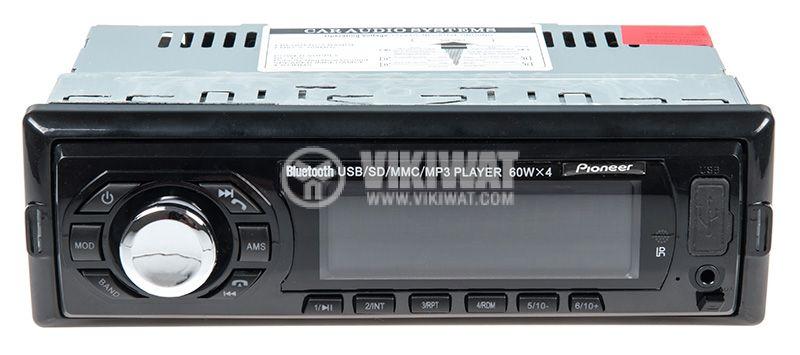 Bluetooth, car audio, MP3 player, radio, 4x60W, USB, AUX  - 1