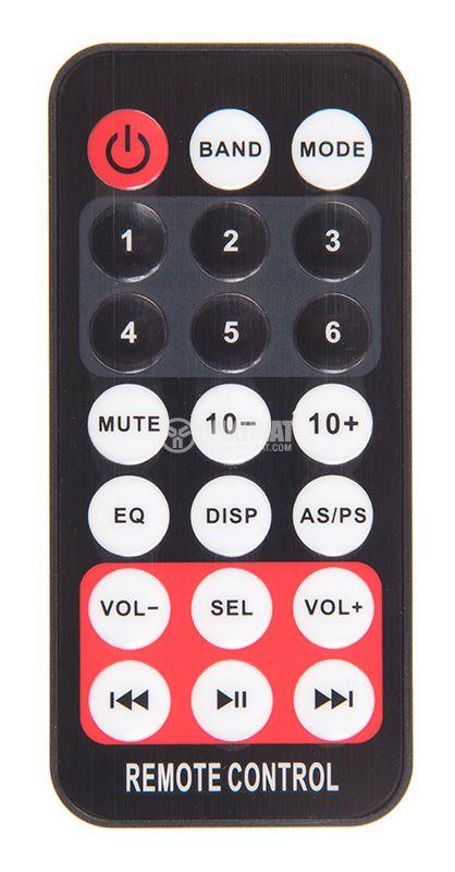 Bluetooth, car audio, MP3 player, radio, 4x60W, USB, AUX  - 5