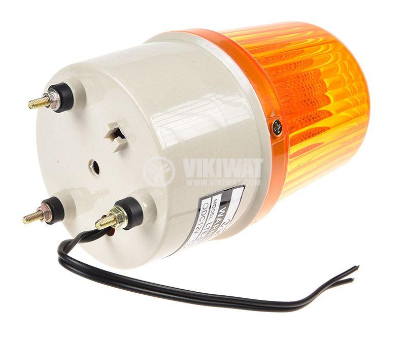 Лампа LTE-5103 220V 3W жълта - 2
