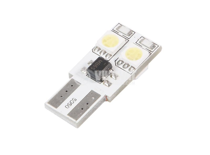 Automobile LED light, 12VDC, 2.4W, W2.1x9.5d, cold white - 1