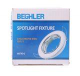 Spotlight fixture for suspended ceiling 12V 50W socket G5.3, IP20 chrome circle BN12-0289 - 4