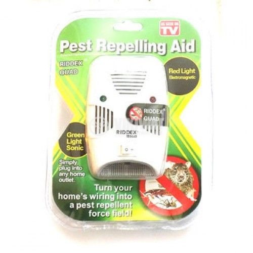 An ultrasonic device against rodents and insects Riddex Pest Repelling Aid - 5