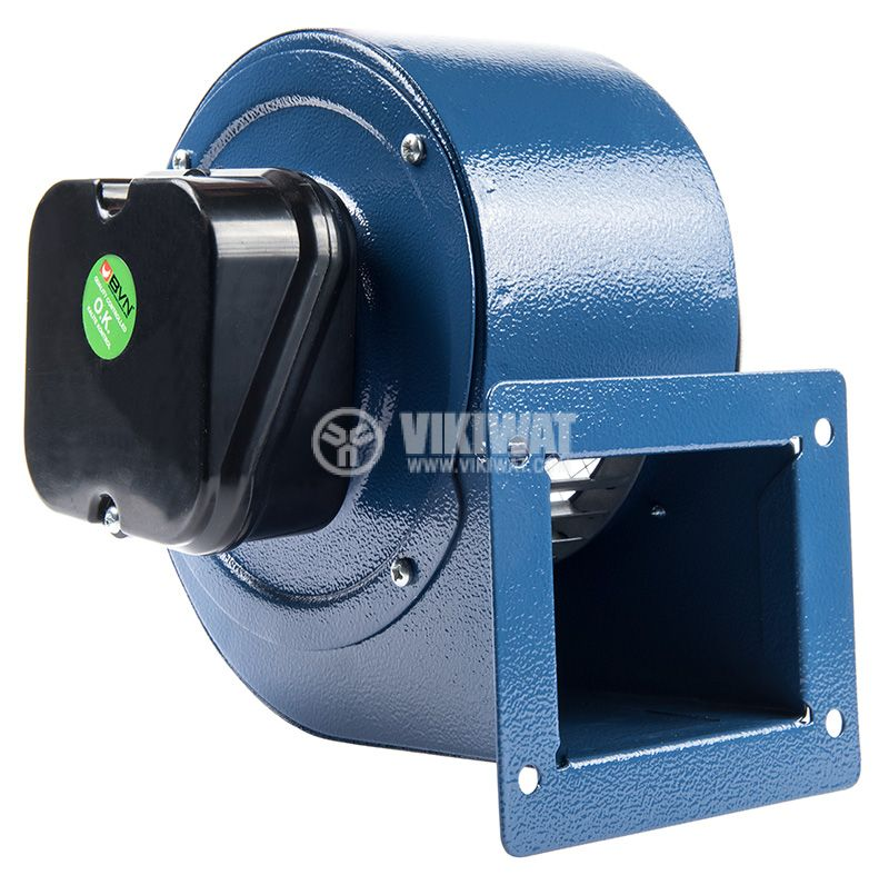 "Industrial Centrifugal Fan BDRS 120-60, 220VAC, 90W 275m3/h, ""snail"" type - 4"
