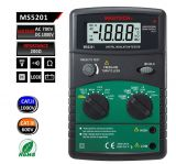 Digital insulation tester MS5201, 250 - 1000V, 2000MOhm, DC and AC