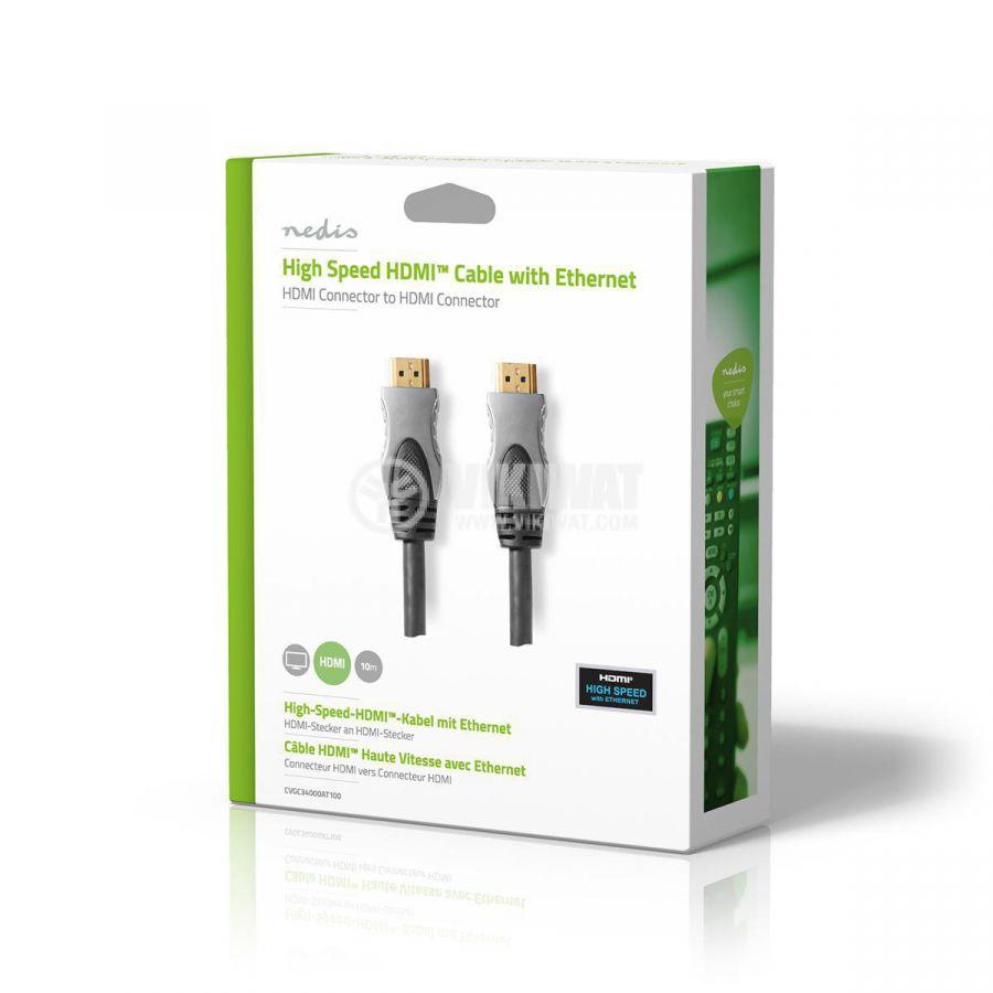 hdmi кабел 10 метра, 4К CVGC34000AT100 - 2