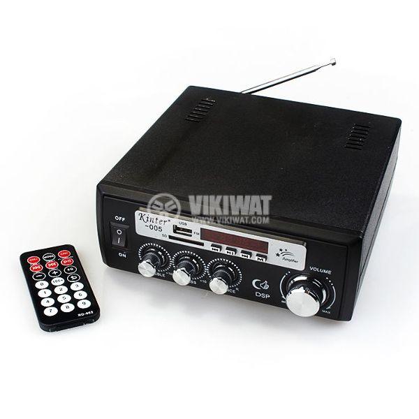 Amplifier KINTER 005 2 x 30W 220VAC/12VDC