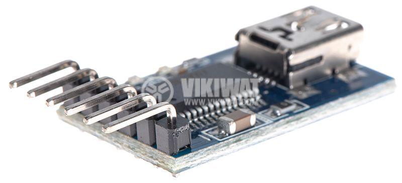 Конвертор USB мини към UART TTL   - 3