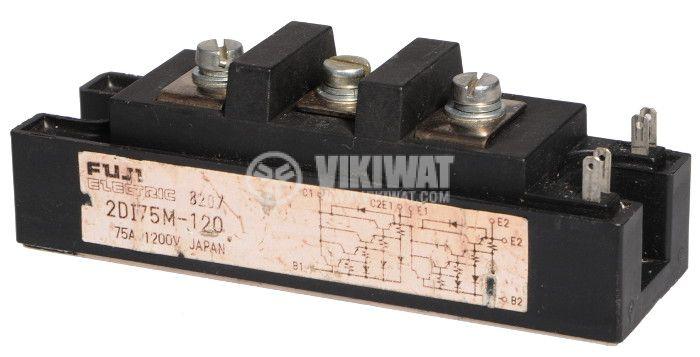 Transistor Module 2D175M-120, 1200V, 75A - 1