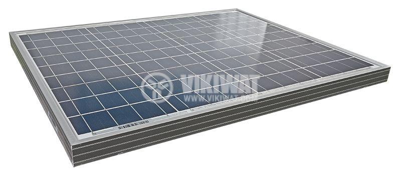 Соларен панел, 50W, 12V, 2.88A, LX-50P   - 2