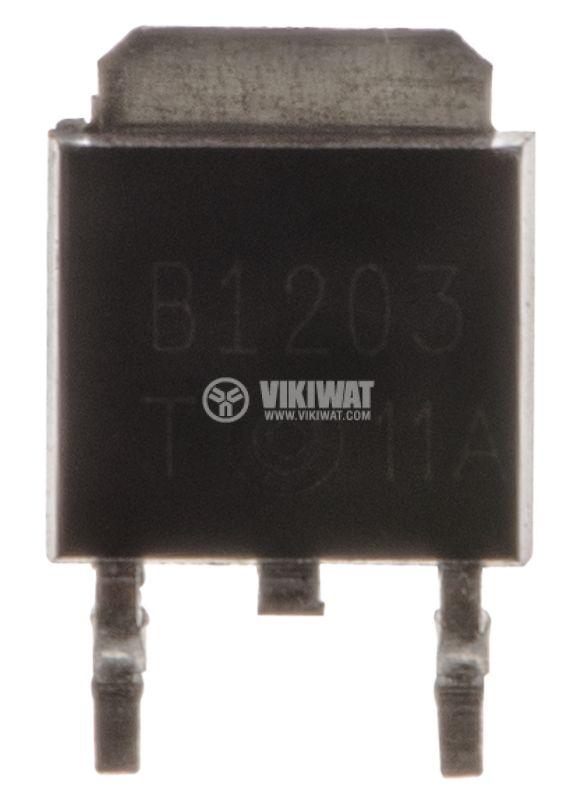 Транзистор 2SB1203, PNP, 60 V, 5 A, 20 W, 180 MHz, TO-251 - 2