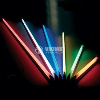 Луминесцентно осветително тяло 1x6 W, 220 VAC, цветно, открито, 260 mm - 2