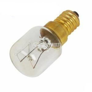 Лампа с нажежаема спирала 25 W, 220 VAC, E14, 300 °C - 3