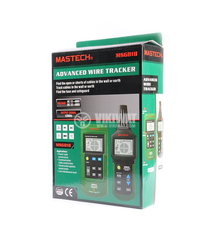 Advanced wire tracker MS6818, transmitter and receiver - 11