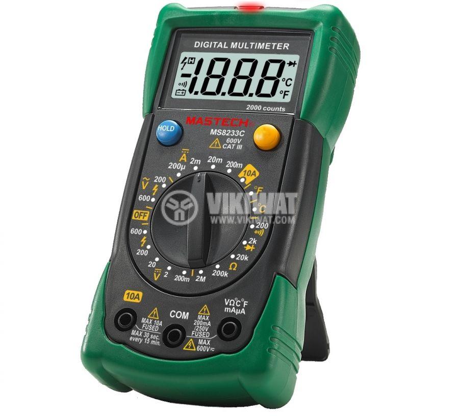 Multimeter MS8233C - 1