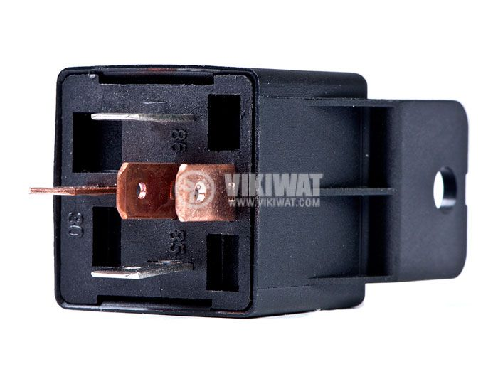 Електромагнитно автомобилно реле бобина с резистор 12VDC/30A SPDT - NO+NC, AS403R - 2