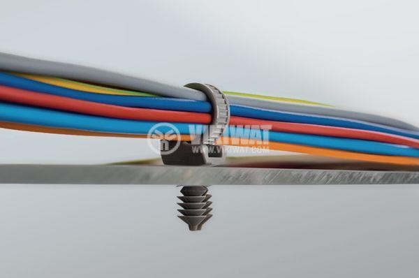кабелни превръзки с дюбел - 3