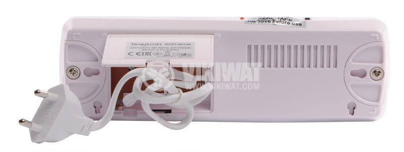 """Аварийно LED осветително тяло """"EXIT"""", BC01-00130, 2W, 6500K - 11"""