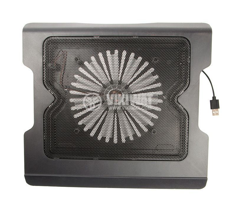Laptop cooling pad, black, up to 14 inch laptops - 1