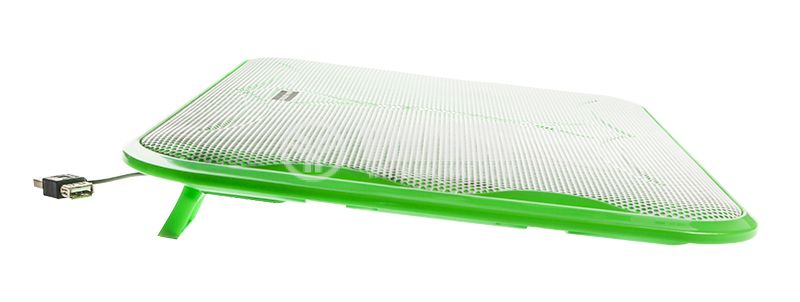 Laptop cooling pad, green, 10 to 17 inch laptops - 4